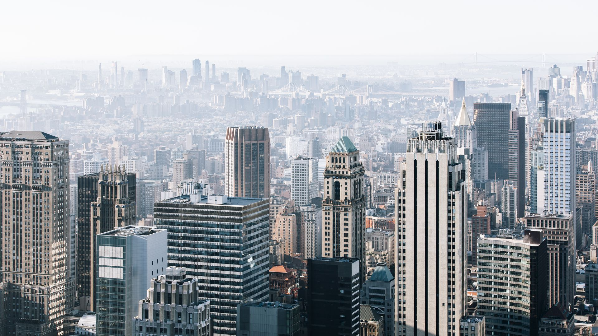 New York Arial view