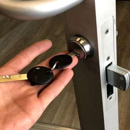 CHANGE RE-KEY LOCKS